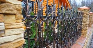 Кованые заборы Симферополь цена от 3388 руб.