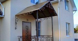 Козырек над крыльцом Симферополь цена от 3410 руб.