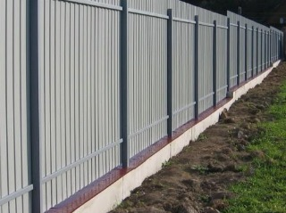 Забор на ленточном фундаменте Симферополь цена от 7458 руб.