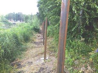 Забор из профнастила Симферополь - цены с установкой под ключ от 1172 руб.