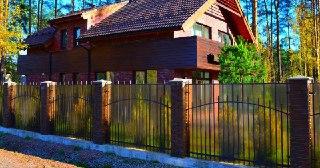 Забор для дома Симферополь цена от 1599 руб.