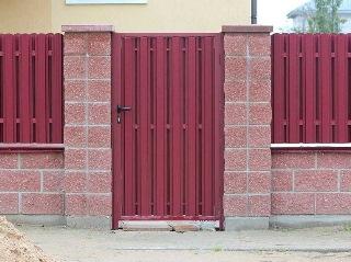 Установка калитки Симферополь цена от 2131 руб.