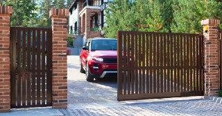 Сдвижные ворота Симферополь цена от 20616 руб.