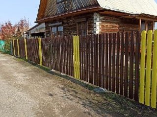 Установка заборов Симферополь цена от 1332 руб.